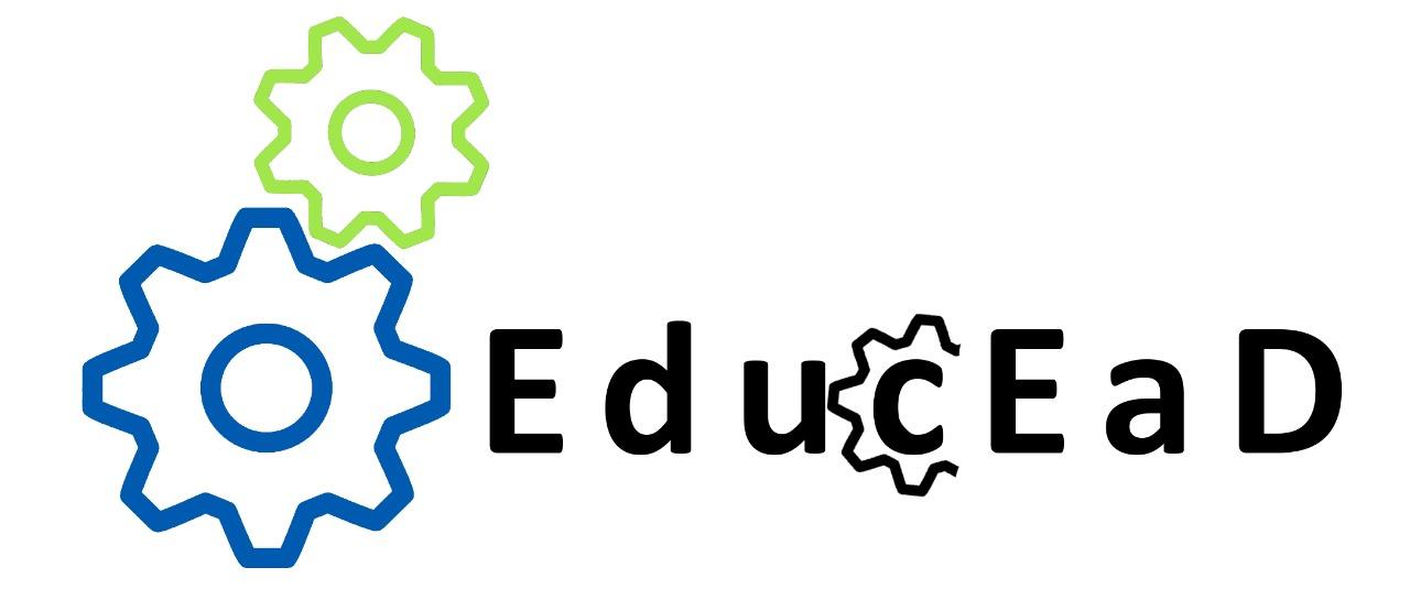 A imagem mostra a logo da revista EducEaD